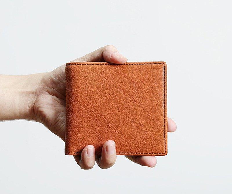 男士短款 真皮錢包 零錢包