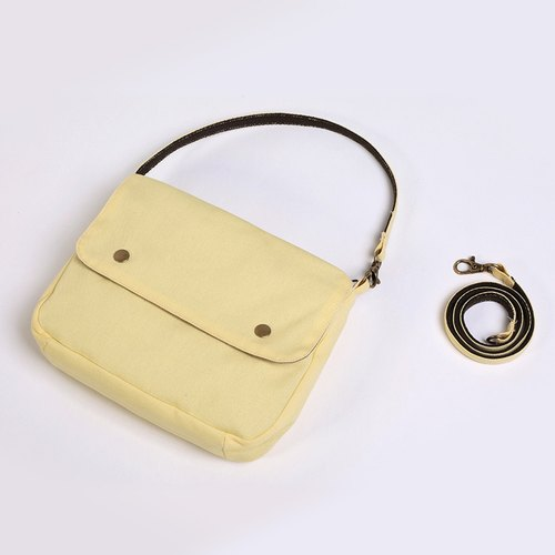 Multi-purpose carry-on packet - lemon yellow