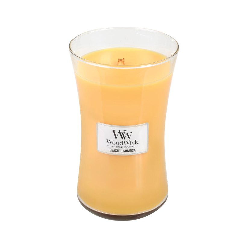 [VIVAWANG] WW22oz fragrance cup wax (beach honey lemon). Into the wisdom and confidence, leading creativity