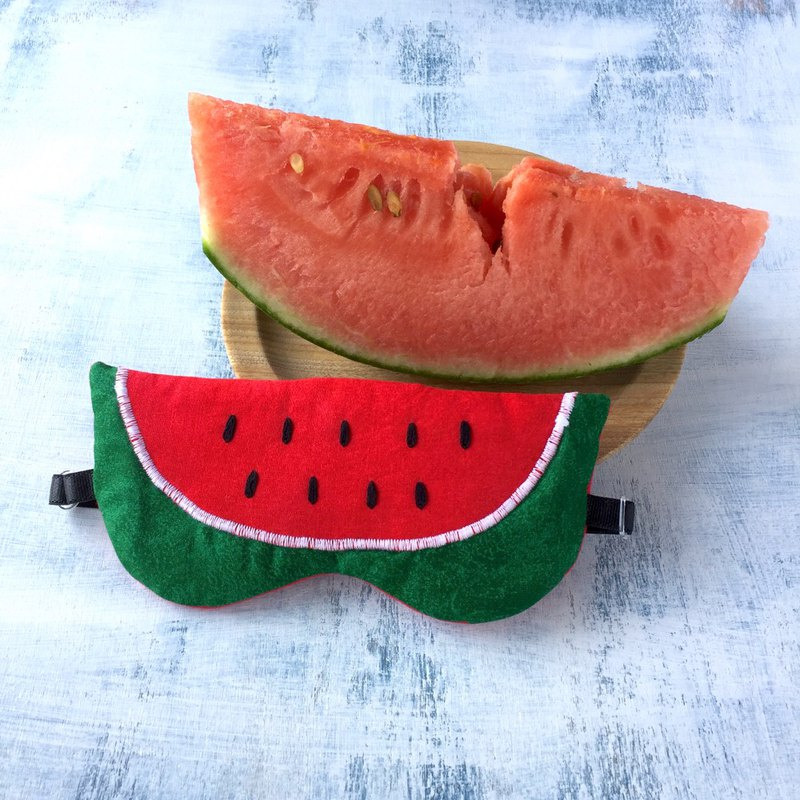 Watermelon/sleep mask/ gift /trip/travel/game