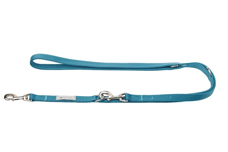[Tail and me] multi-functional enhanced stretch rope blue L