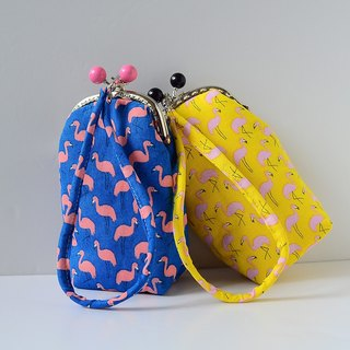 Special makeup bag. Tsui Red Bird (Blue)