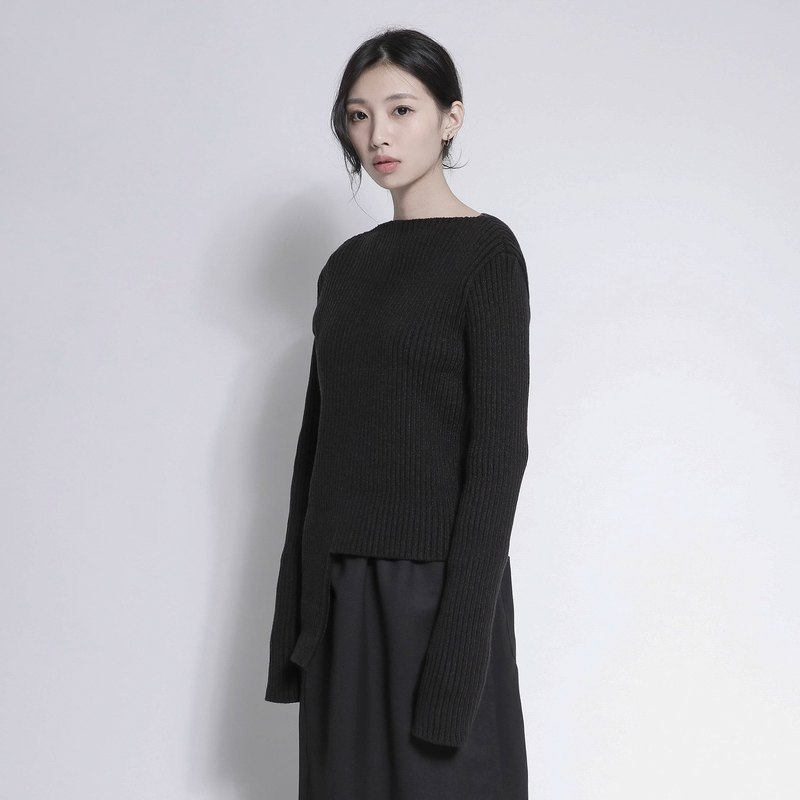 Splendid smashed super long sleeve shirt _7AF005_ carbon black