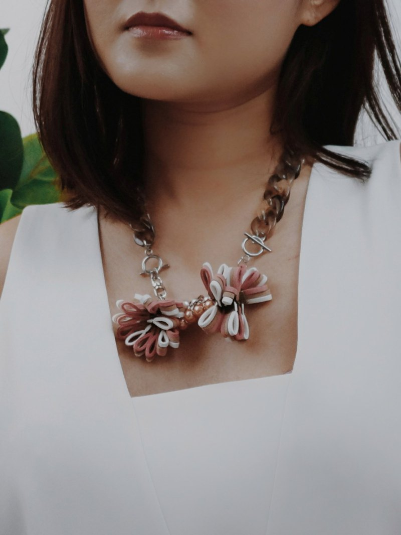 OKKO Necklace //ROSE