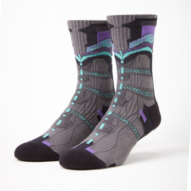 Shark Purple NIAR socks