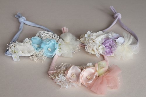Baby Headbands , Baby Headband Set , Newborn Headband , Baby Bows , Newborn prop