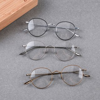 New super hot sale one-piece full titanium metal frame drop titanium nose pad exquisite models men and women can wear