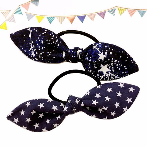 Star series bow hair accessories a group of 2