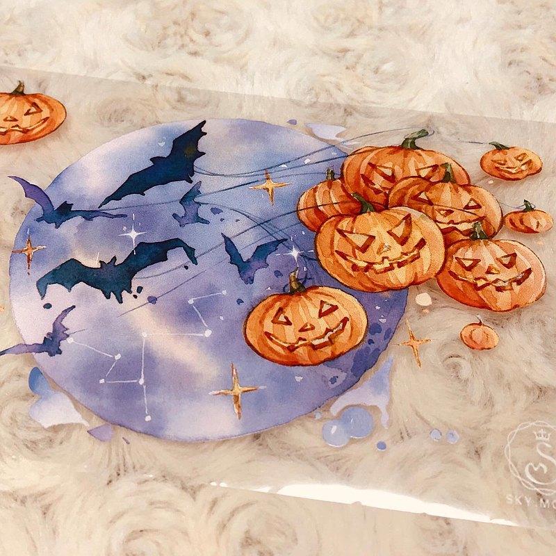 奇幻萬聖節 2 Fantasy Halloween 2 紙膠帶 Masking Tape