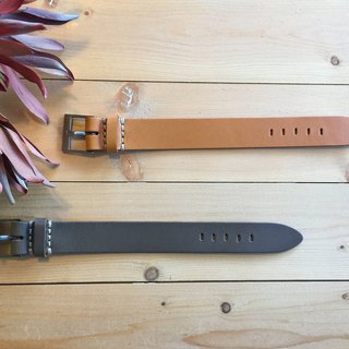Solid thick strap leather bracelet - a total of 3 colors
