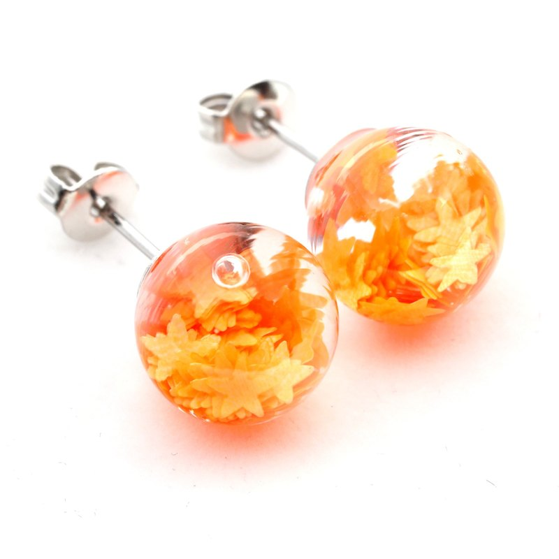 OMYWAY Handmade Water - Glass Globe - Earrings