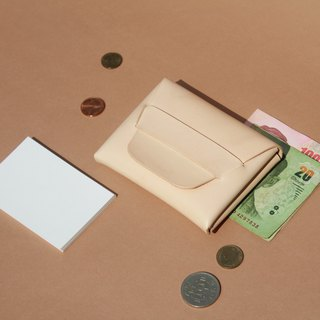 Wallet Leather ,Card Holder ,Stitch less Leather ,Minimalist ,handmade card case