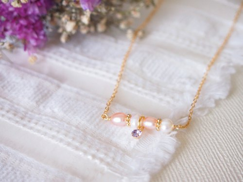 Anniewhere | Sweetie | Pearl Double Play Necklace