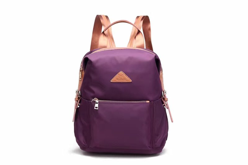Classic Waterproof Backpack Purple/Sapphire/Grey/Army Green #1013