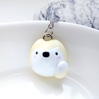 Fairy tale animal happiness Shiba Inu handmade cute necklace