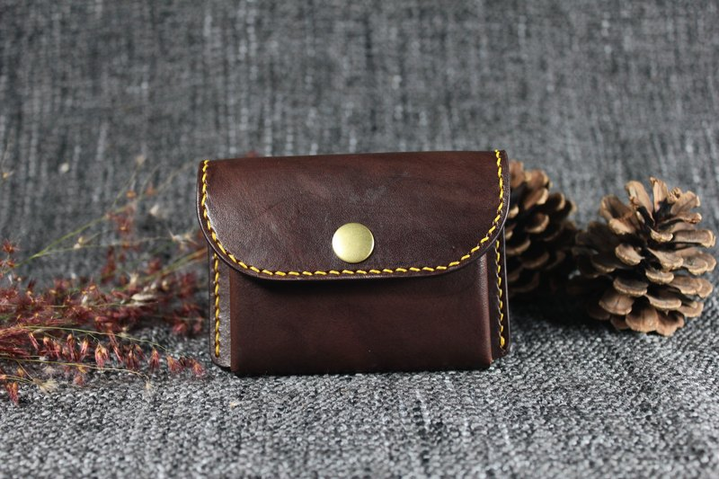 [Mini5] Easy Coin Purse / Card (Coke Tea)