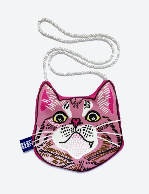 PINKY small bag of cat