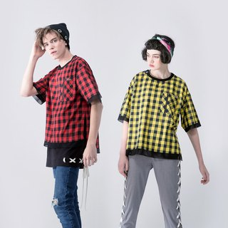 UNISEX DUAL LAYERED APPEARANCE SHIRT