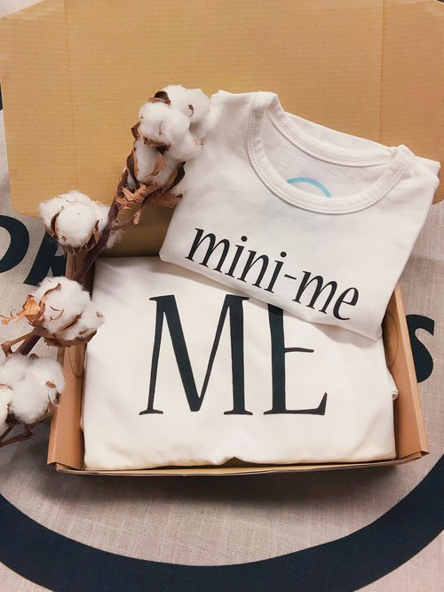 Mommy and Mini-Me T-shirt set