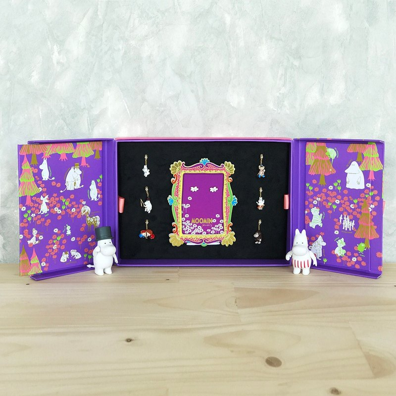 Hanging Earring Gift Set Box -  Moominpappa & Moominmamma SET