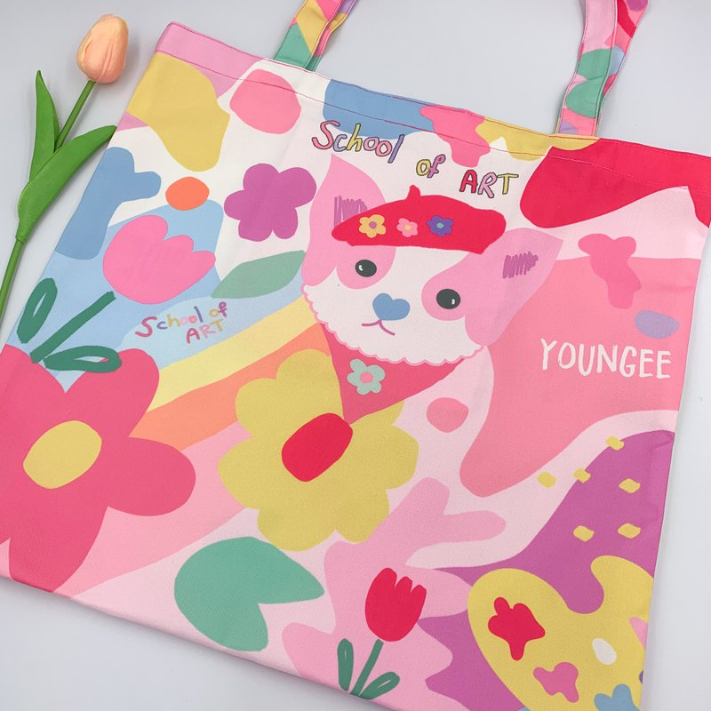 School of Art Tote Bag by Youngee