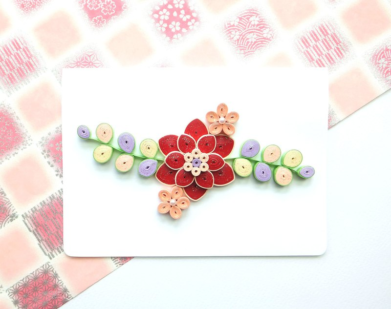 Hand made decorative cards- blessing