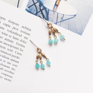La Don - Earrings - Tianhe Sue Needle / Ear Clamp