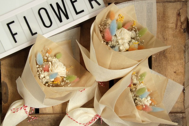 Candy rabbit tail graduation bouquet graduation gift