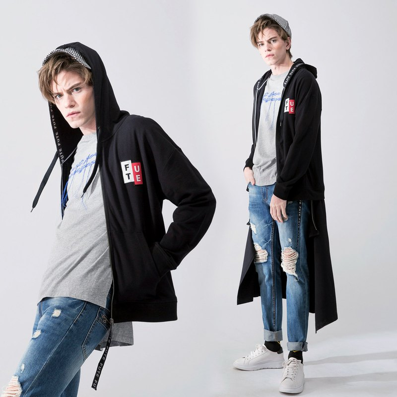 Unisex Multi-Purpose Long Hoodie Jacket