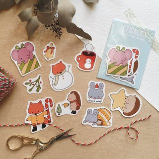 Xmas Sticker Set of 2018