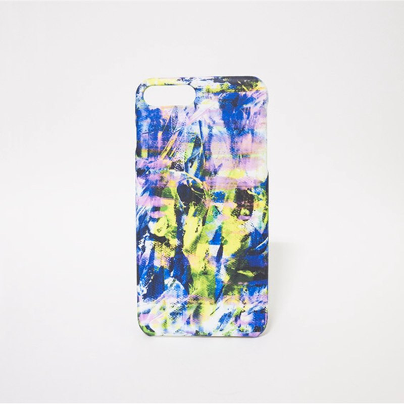 Seine / abstract painting transfer phone shell matte hard shell iPhone case custom