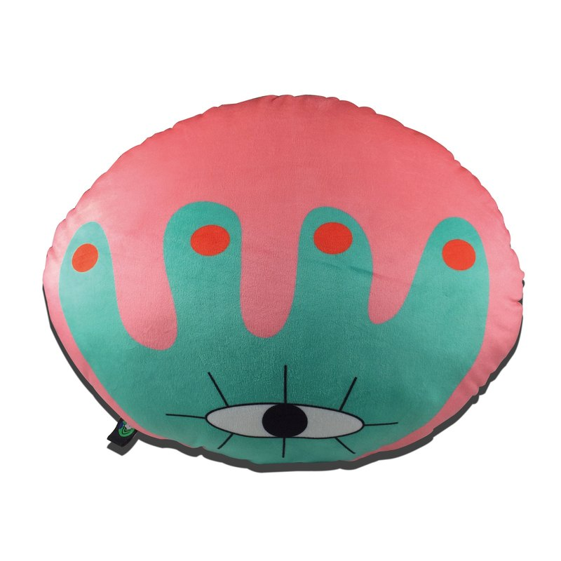 Wildlife - Round Pillow / Illustration
