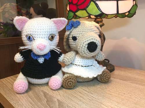 Wedding Decoration – Animal wedding dolls