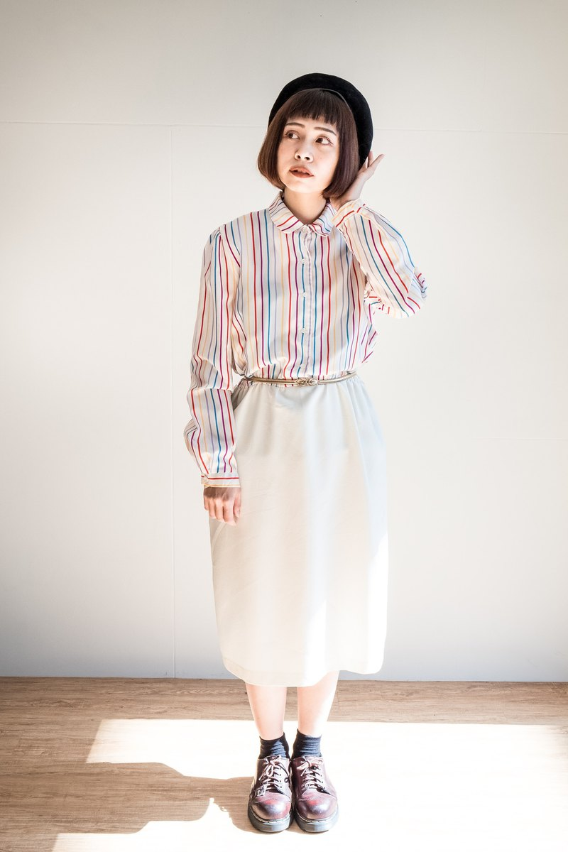 Vintage / Long Sleeve Dress no.24 tk