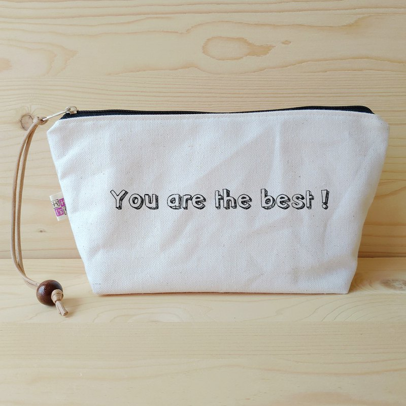 Positive energy cosmetic bag _you are the best