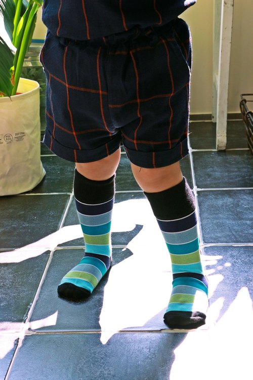 Kids Socks - Wakefield, Chalk & Cheese - British Design for Children's Collection