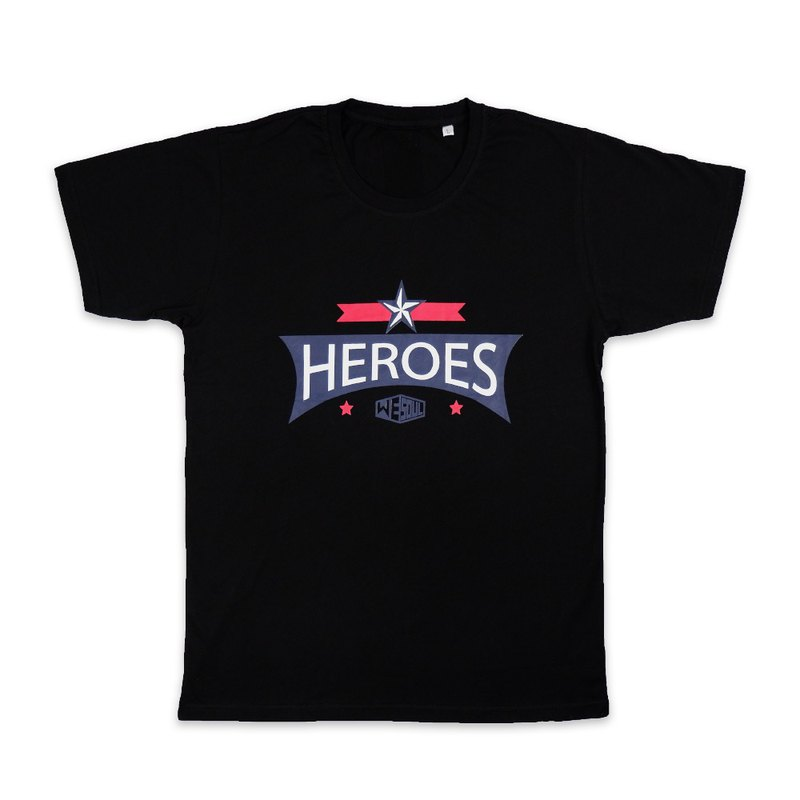 HEROES series design cotton T :::::