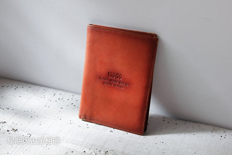 Modo Italian leather men's wallet