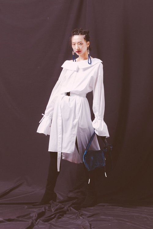 ENVOL AVEC NING ASHLEY DRESS 白色