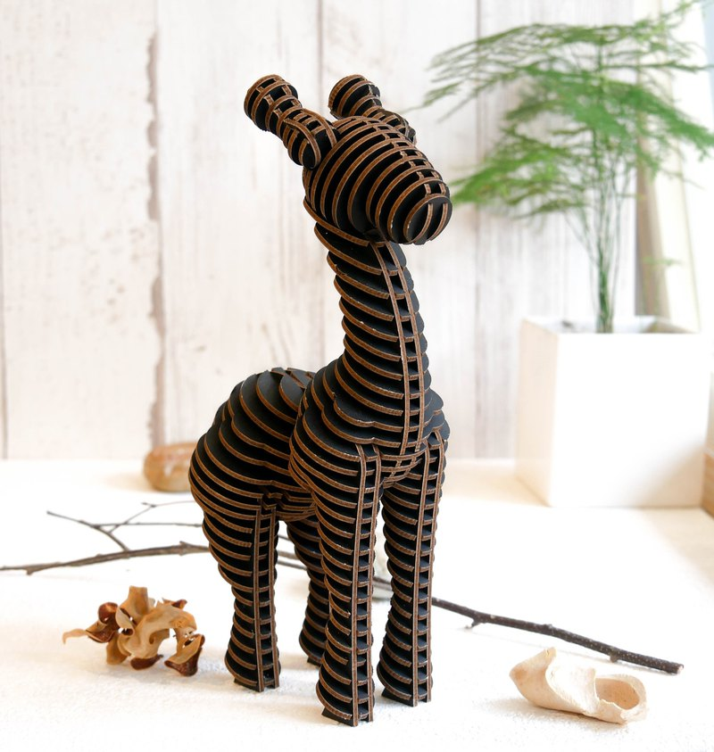 Lucy the Giraffe/3D Craft Gift/White