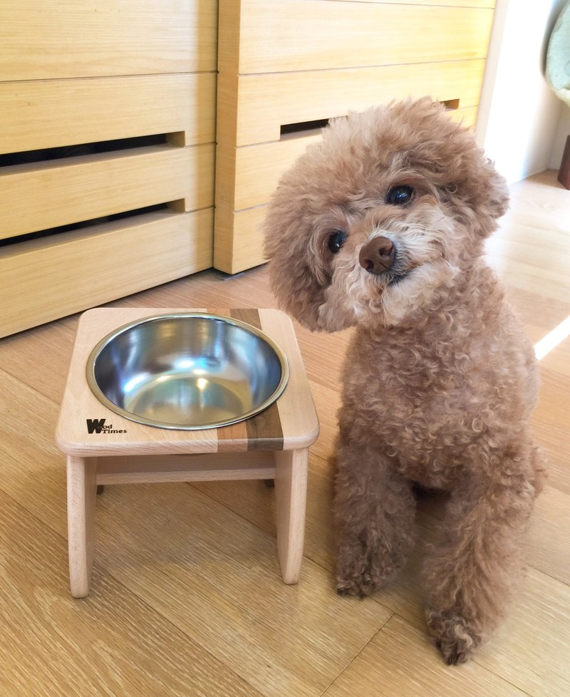 Hair child fashion table - mini pet design furniture pet supplies pet bowl