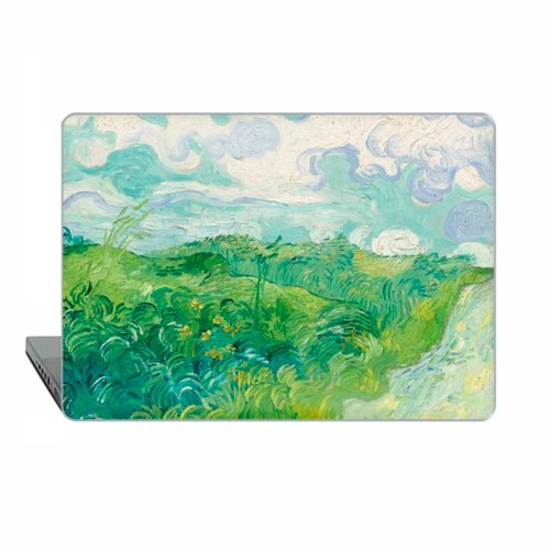 Van Gogh Macbook Pro 15 touch bar 2016 classic art Case MacBook Air 13 Case Green field Macbook Pro 13 Retina classic art Case Hard Plastic 1528