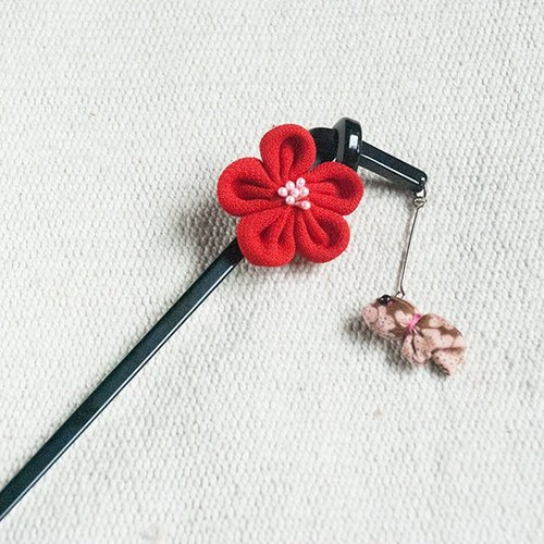 Xiaomei goldfish, hairpin, hair plug