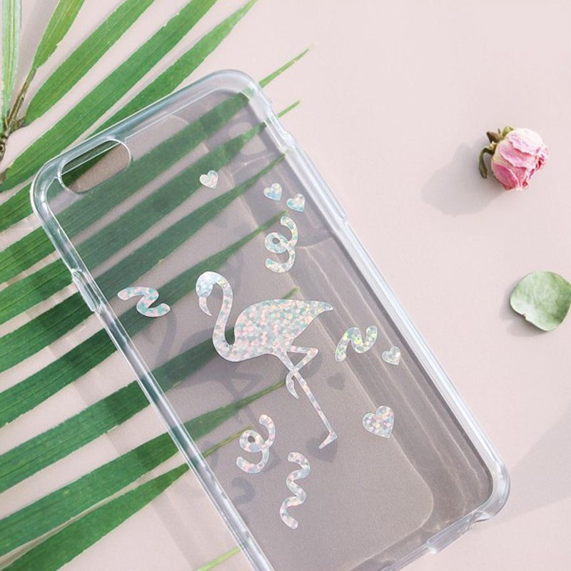 ICONIC Laser Rainbow Waterproof Sticker Set - Flamingo, ICO51852