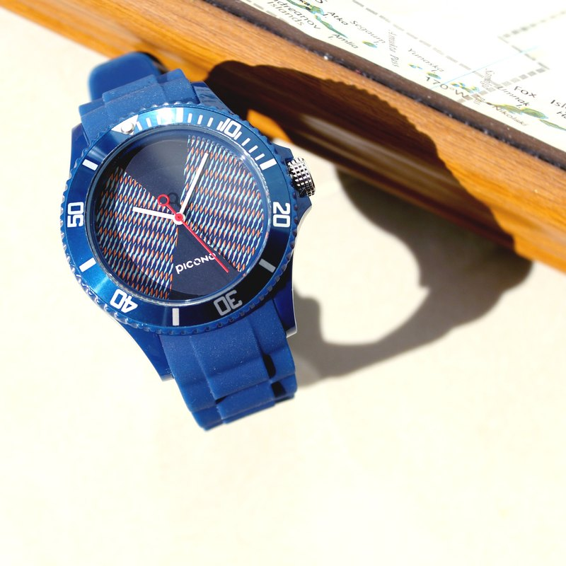 【PICONO】POP Circus Sport Watch - Lucky Fish(Blue) / BA-PP-09