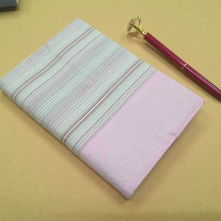 Exquisite A6 cloth book clothing ~ pale pink (unique goods) B04-027