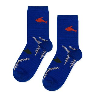 Sc. GREEN Lifestyle Goldfish / Socks / Socks / Comfort Socks / Womens Socks