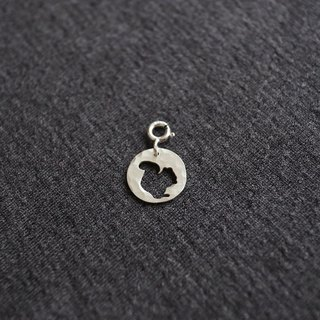 Ni.kou sterling silver squirrel pendant