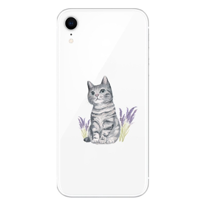 Spot | Tabby Cat - Mobile Shell | TPU Phone case Anti-fall Air Compressor |
