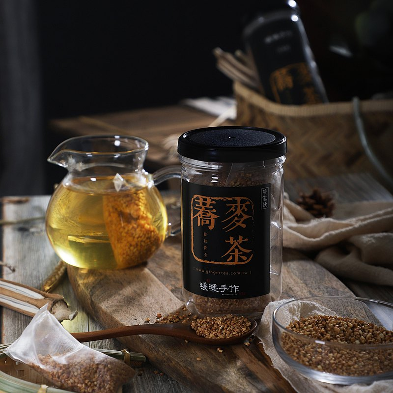 Healthy 鞑靼 Golden Buckwheat Tea Gift Box (10 in) x Warm and pure hand made